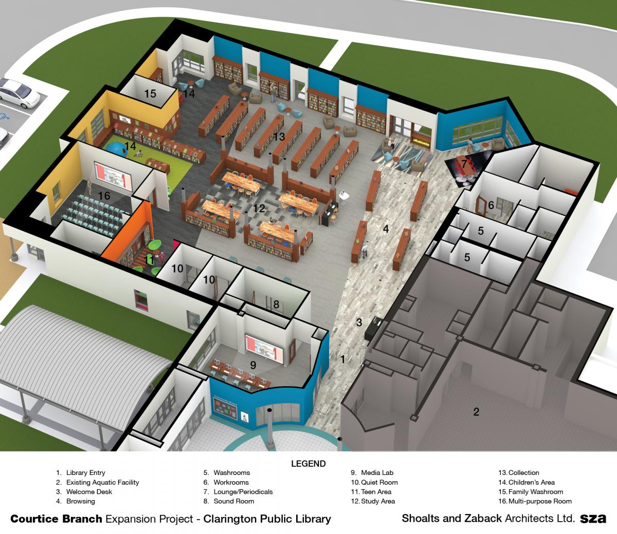 Courtice expansion project planning clarington public for Floor plan project