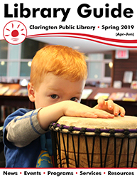 Cover of Spring 2019 Library Guide.