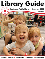 Cover of Summer 2019 Library Guide.