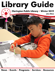 Cover of Winter 2019 Library Guide.