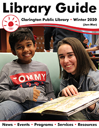 Cover of Winter 2020 Library Guide.