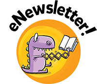 SRC illustrated button, eNewsletter.