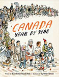 Cover of Canada Year by Year by Elizabeth MacLeod.