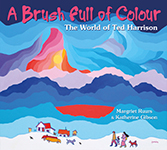 Cover of A Brush Full of Colour by Margriet Ruurs.