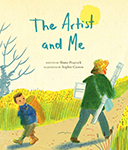 Cover of The Artist and Me by Shane Peacock.