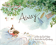 Cover of Away by Emil Sher.