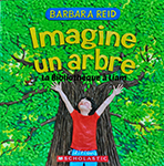 Cover of Imagine un arbre by Barbara Reid.