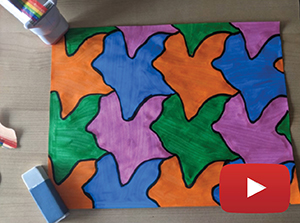 Tessellation pattern.