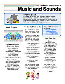 Virtual Storytime Kit, Music and Sounds.