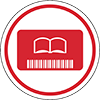 library card icon.