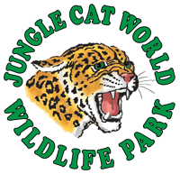 Jungle Cat World logo.