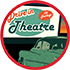 icon of drive in movie.