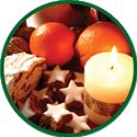 Holiday goodies icon.