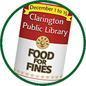 Food for Fines can icon.