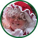 Mrs Claus icon.