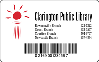 Library card.