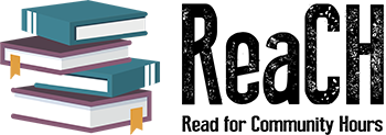 Read for Community Hours logo.