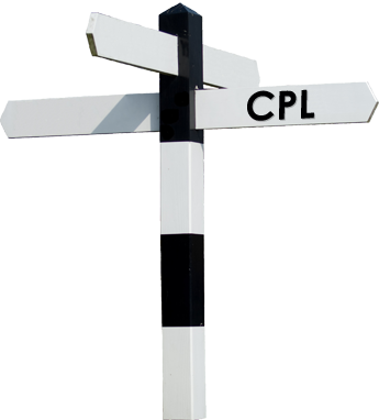 CPL signpost.