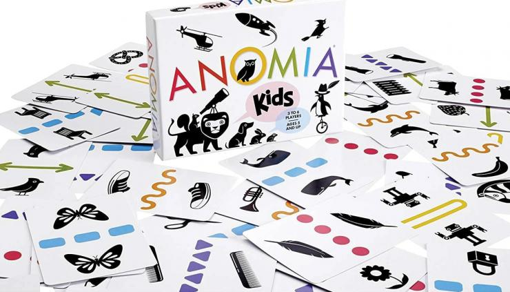Anomia for Kids board game.